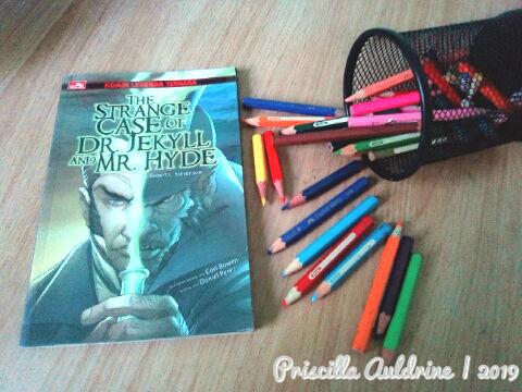 Novel Grafis The Strange Case of dr. Jekyll & Mr. Hyde oleh Carl Bowen