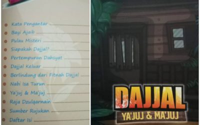 Dajjal, Ya'juj & Ma'juj, Kisah Dua Perusak Besar di Akhir Zaman oleh Abu Hudzaifah Ahad bin Kadiyat