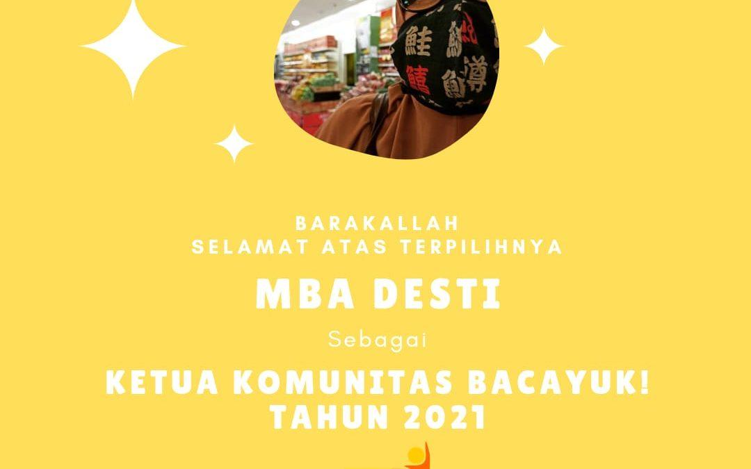 PEMILU Ketua Bacayuk 2021