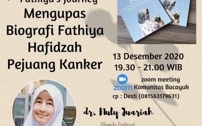 Bincang Buku Biografi Fathiya